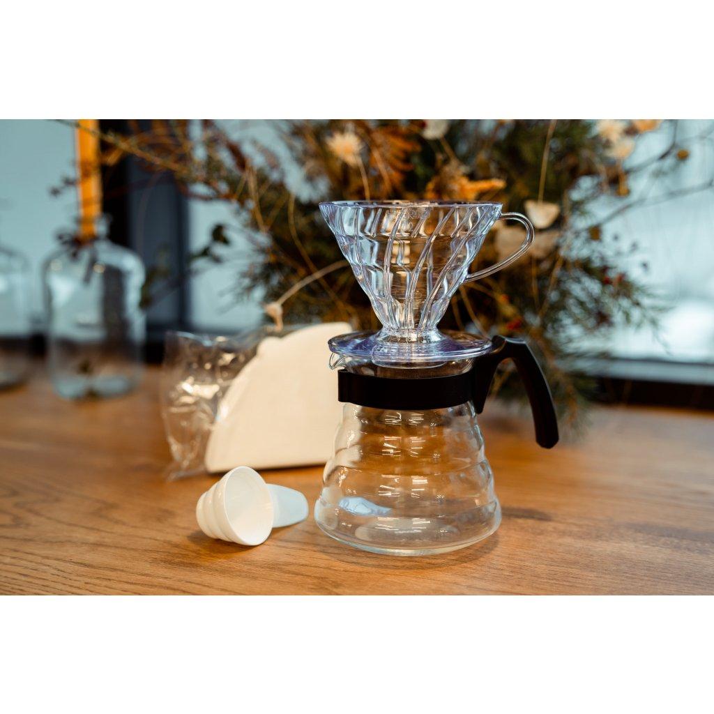 Hario V60 Coffee Server Set Red